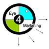 Eye 4 Marketing Mobile Logo